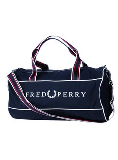 Fred Perry Retro Barrel Bag