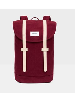 Sandqvist Stig Burgundy natural leather