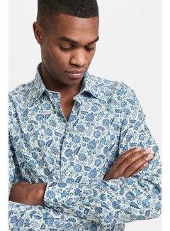 Matinique Marc pure cotton floral print shirt