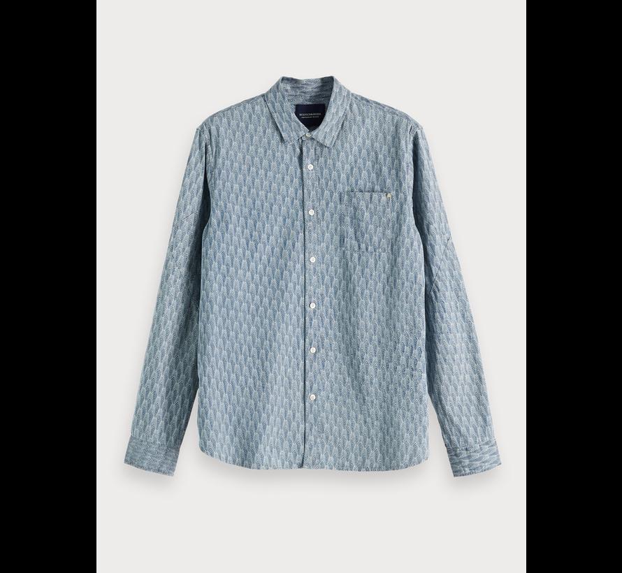 Overhemd met print  Regular fit