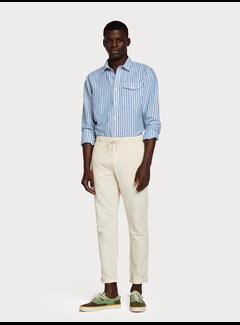 Scotch & Soda Warren - Pantalones de lino y algodón  Regular straight fit