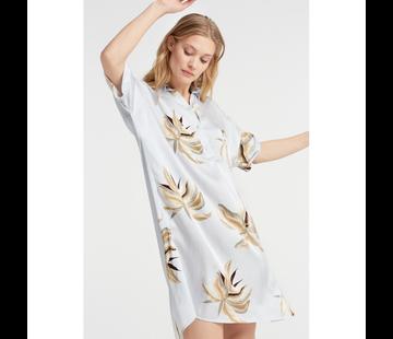 YAYA Blouse dress with jungle flower print