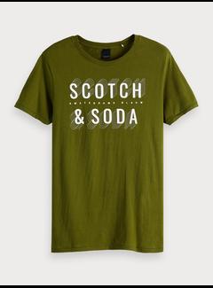 Scotch & Soda T-shirt met logoprint