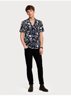 Scotch & Soda Artwork Hawaii Shirt Brutus