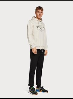 Scotch & Soda Hættetrøje med tekst logo