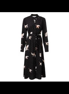YAYA Maxi dress with Japanese print