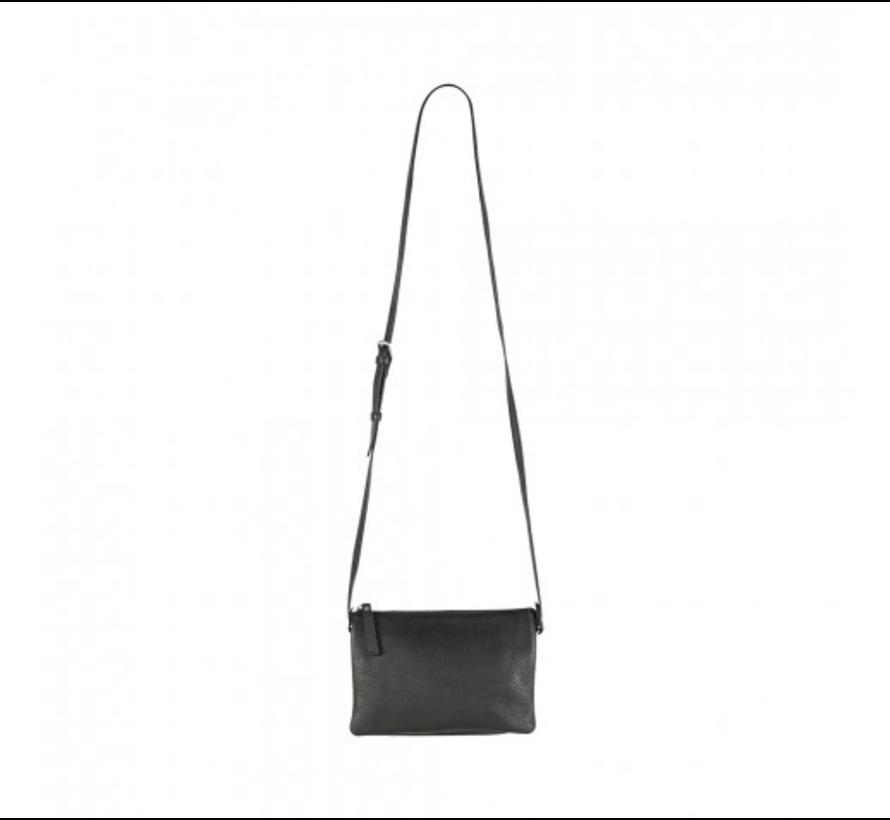 Vera Crossbody Bag, Grain Black
