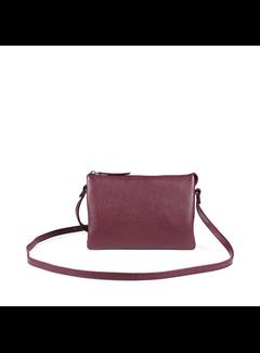 Markberg Vera Crossbody Bag, Grain Blurgundy