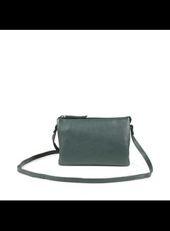 Markberg Vera Crossbody Bag, Grain Dark Green