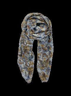 Black Colour Elna Paisley sjaal