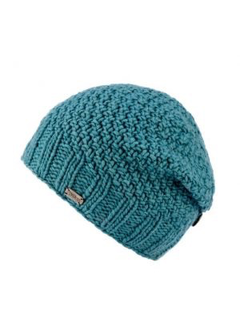 Kusan Button down mossa yarn floppy beret
