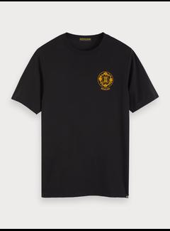 Scotch & Soda T-paita taideprintillä