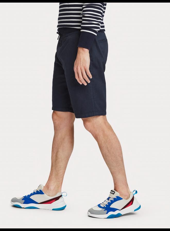 Shorts aus Baumwollleinen