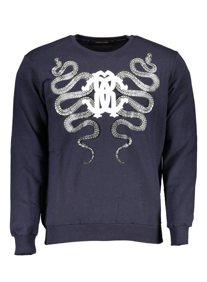 ROBERTO CAVALLI Sweatshirt  with no zip Men