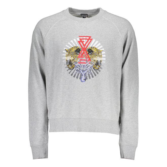 JUST CAVALLI Sweatshirt  with no zip Men