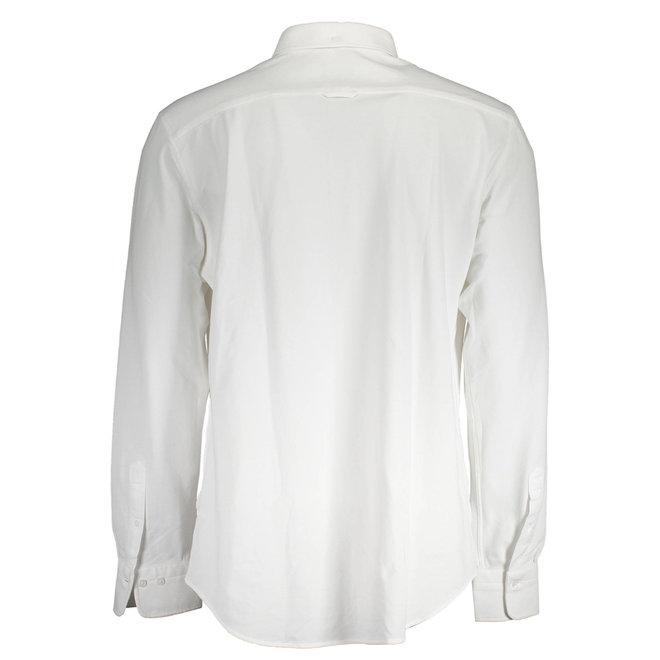White Slim Fit Tech Prep™ Piqué Shirt