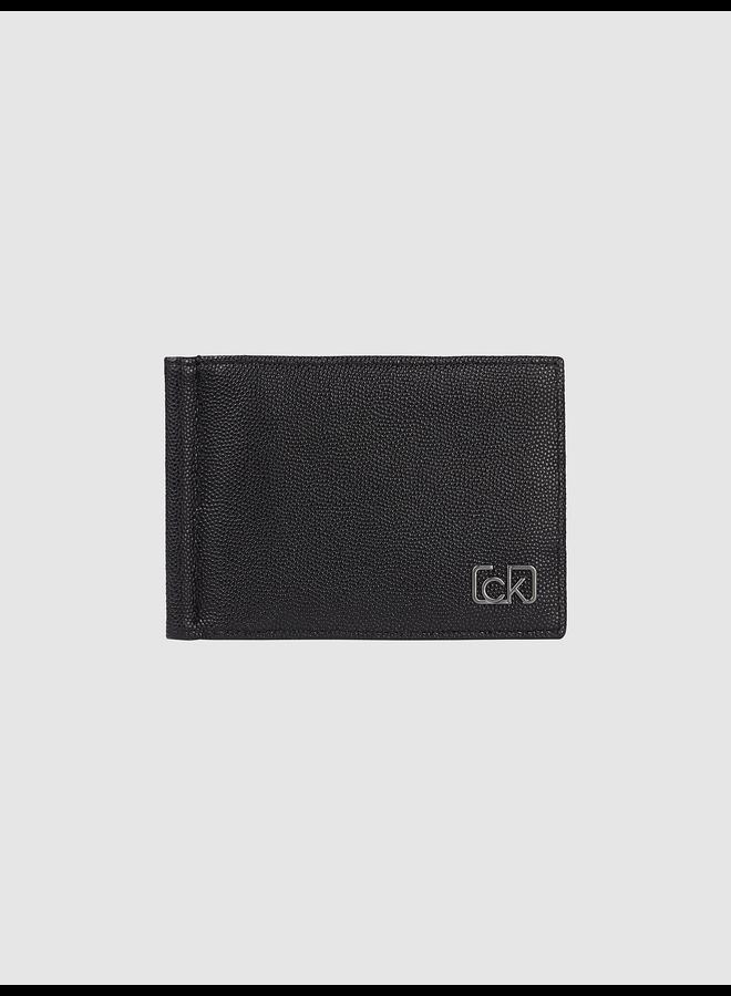 RFID-Blocking Wallet with Money Clip