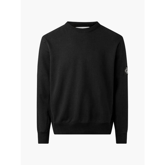 Organic Cotton Badge Sweatshirt