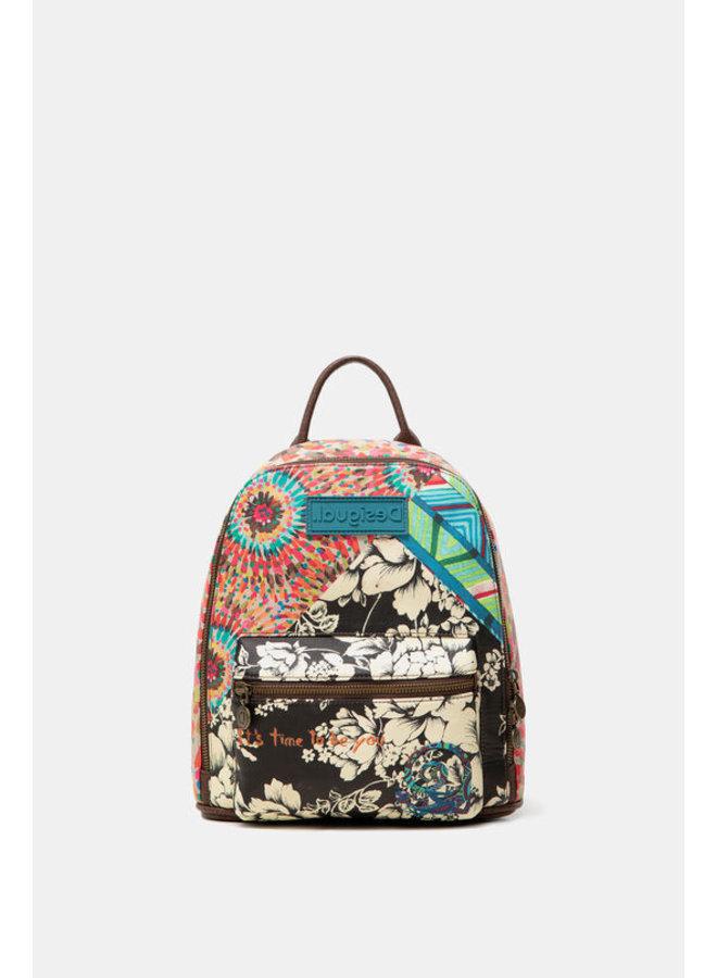 Mini-backpack multiprint message