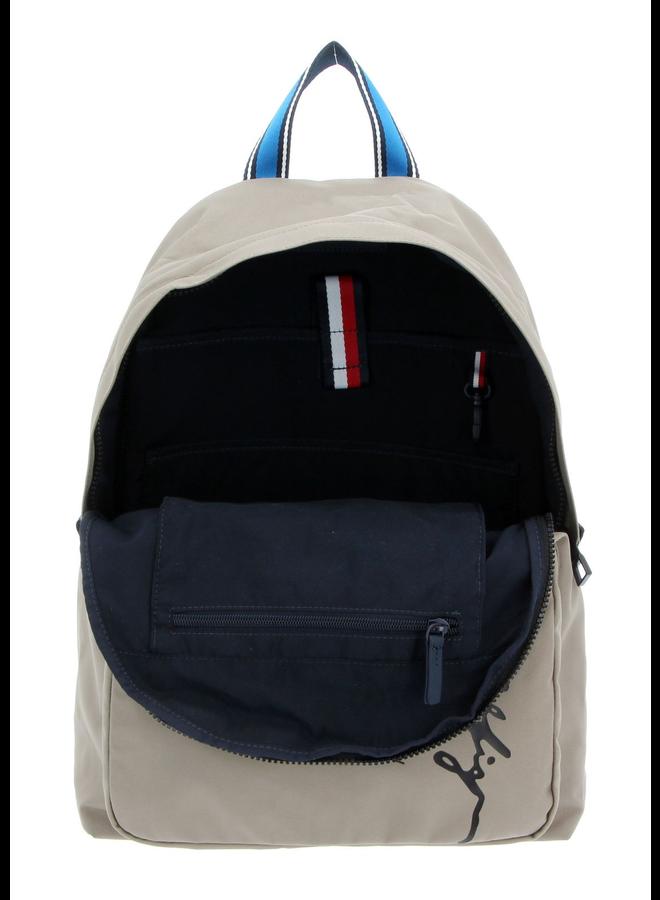 Signature Logo Laptop Sleeve Backpack
