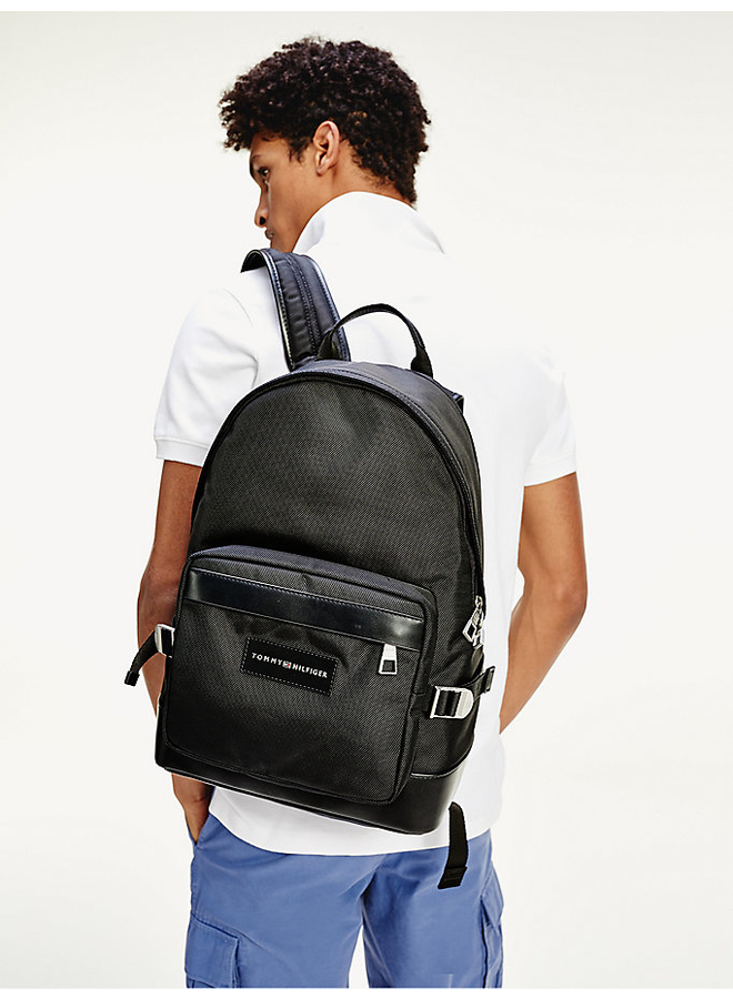 Uptown recycled polyester backpack