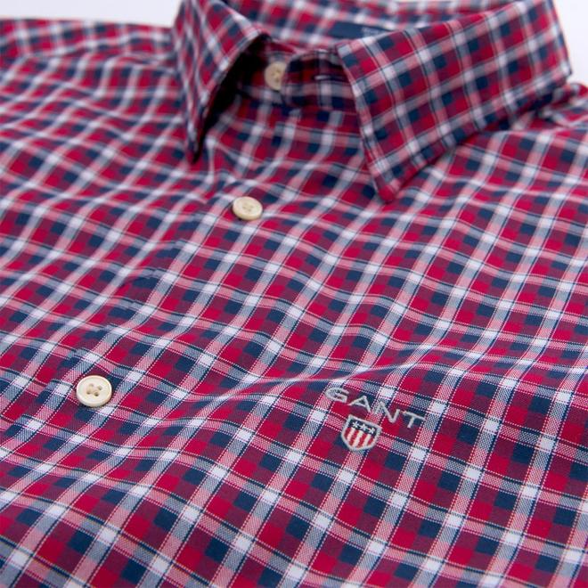 Oxford Check Shirt - Red