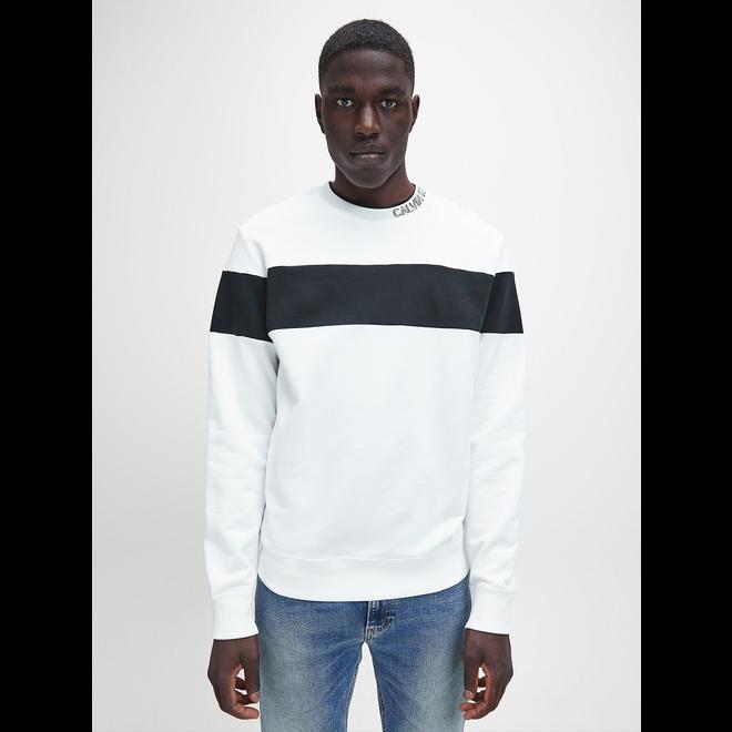 Organic Cotton block stripe sweatshirt