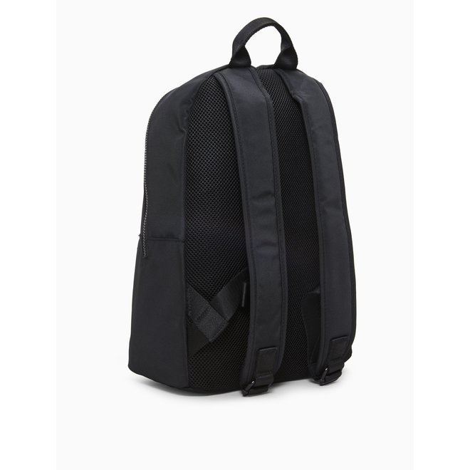 Recycled Nylon Backpack - Black