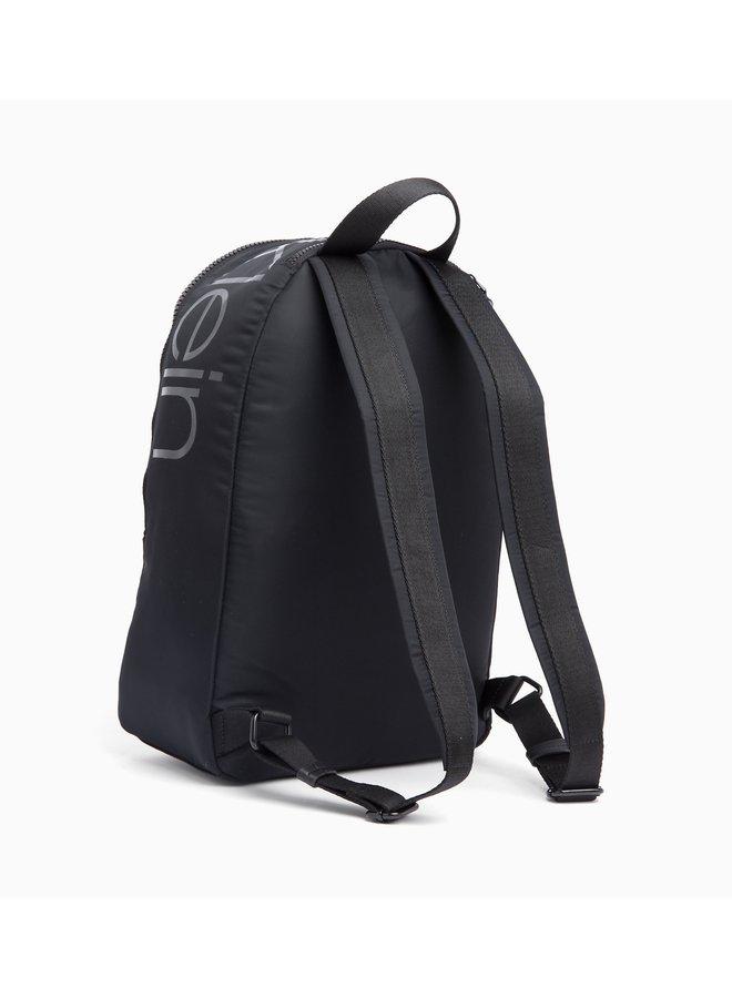 CALVIN KLEIN Nylon Twill Round Backpack