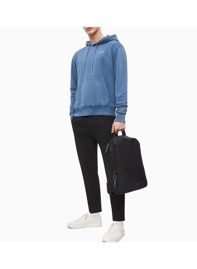 Nylon Twill Round Backpack