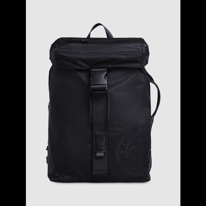 Flap Backpack - Black