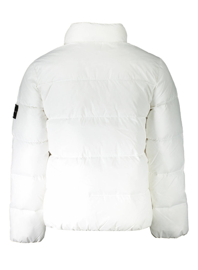 RECYCLED POLYESTER DOWN PUFFER JACKET