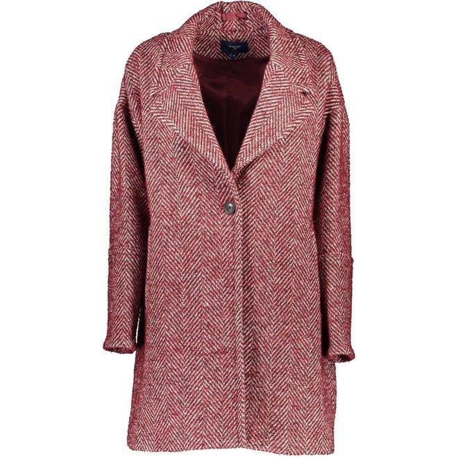 Oversized Coat - Red