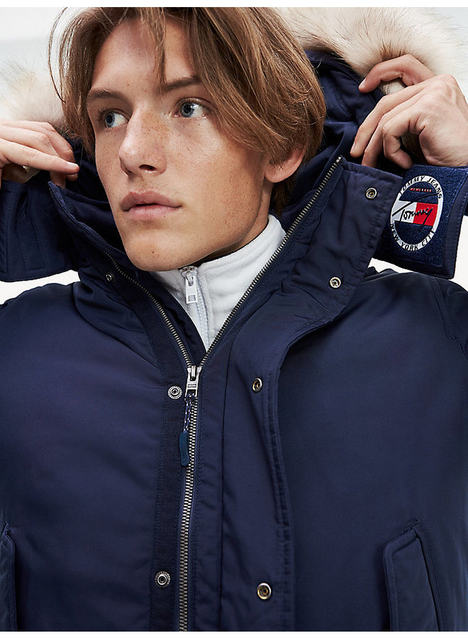 Tommy Jeans Trimmed hood technical jacket