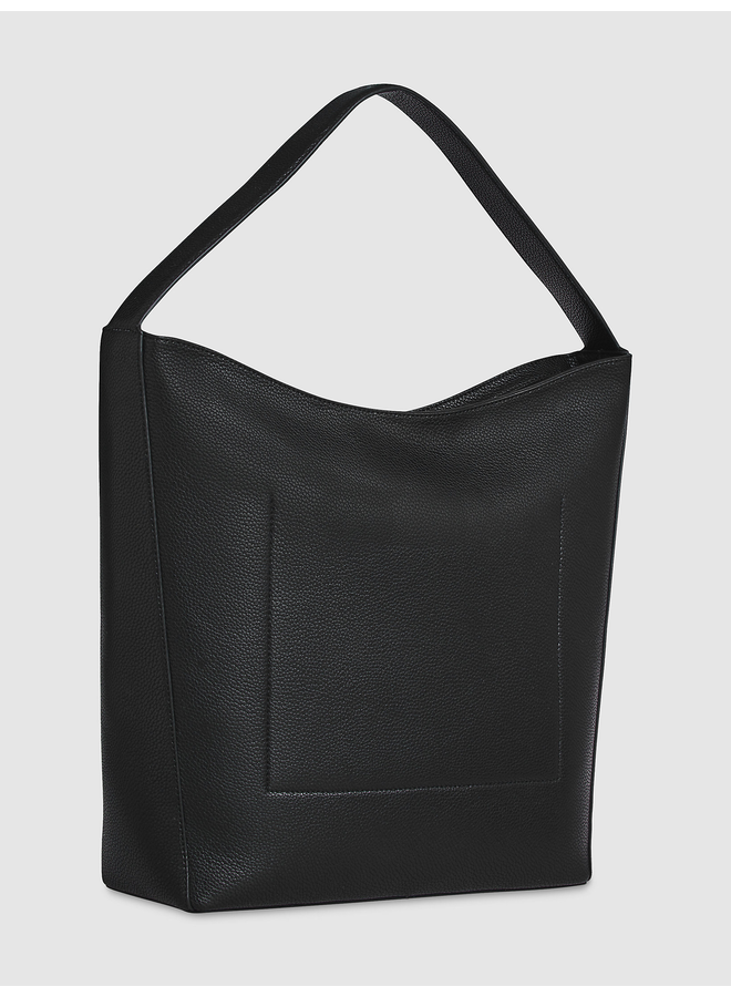 CALVIN KLEIN Leather Hobo Bag