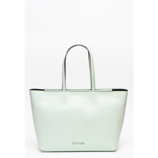 Green Crocodile Tote Bag