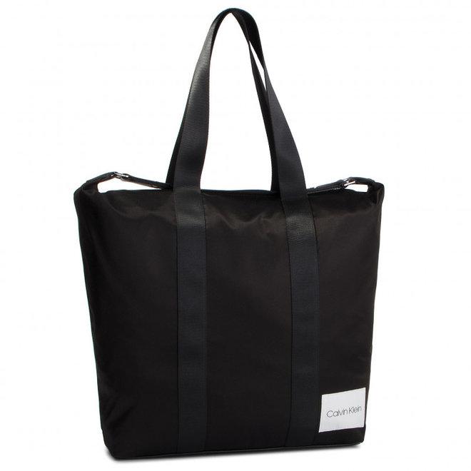 Soft Line Shopper - Black