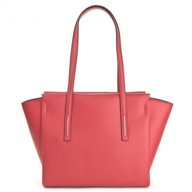 Frame Medium Shopper- Red