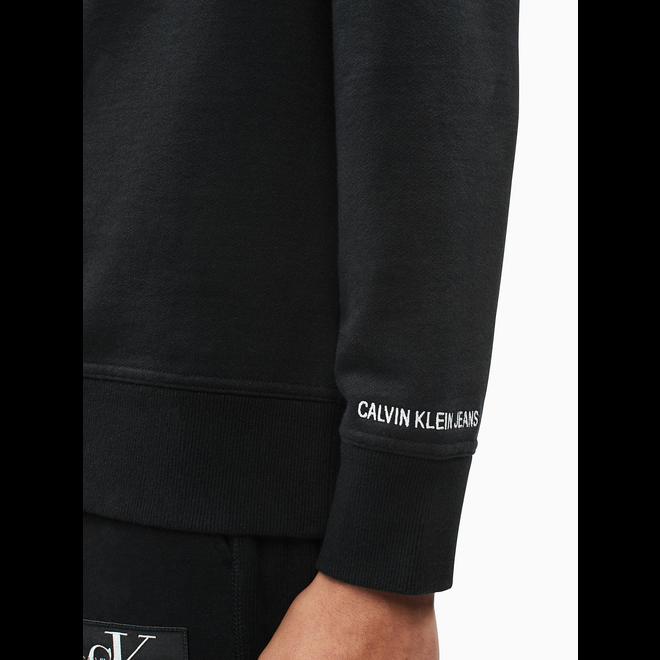 Monogram Logo Sweatshirt - Black