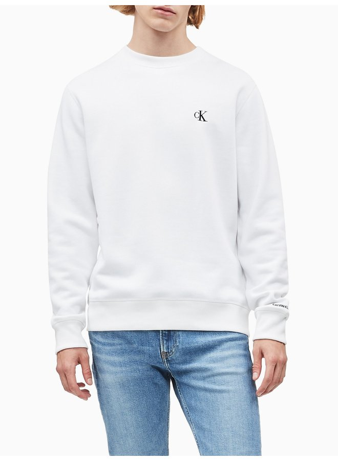 CALVIN KLEIN Cotton Blend Fleece Sweatshirt