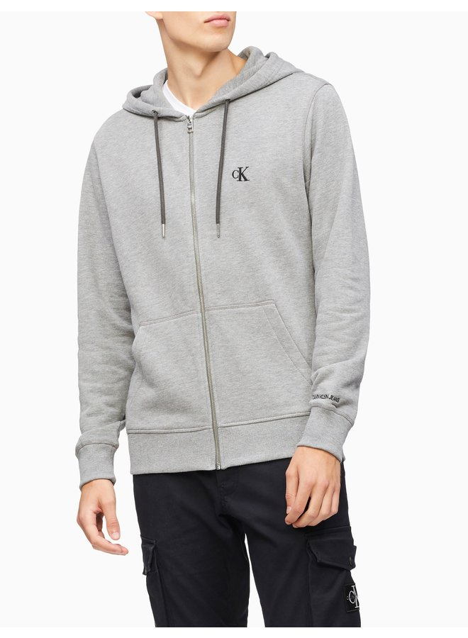 CALVIN KLEIN CK Essential Zip Through Sweatshirt