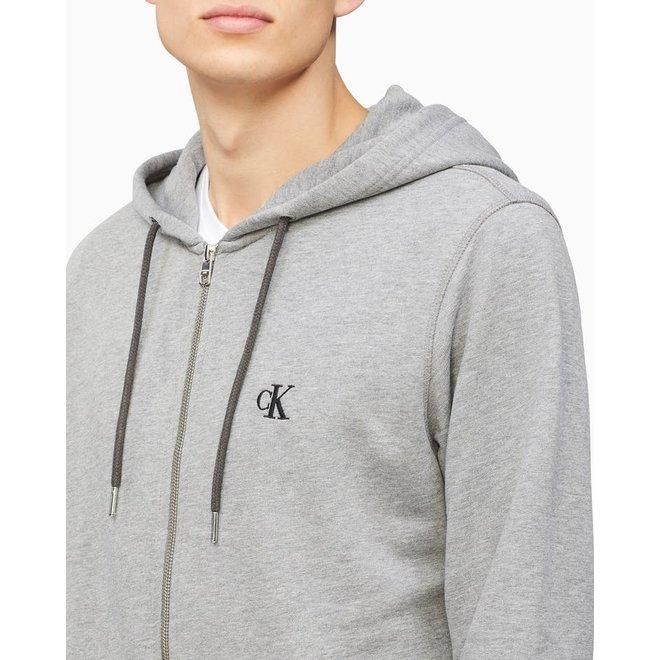 CK Essential Zip Through Sweatshirt