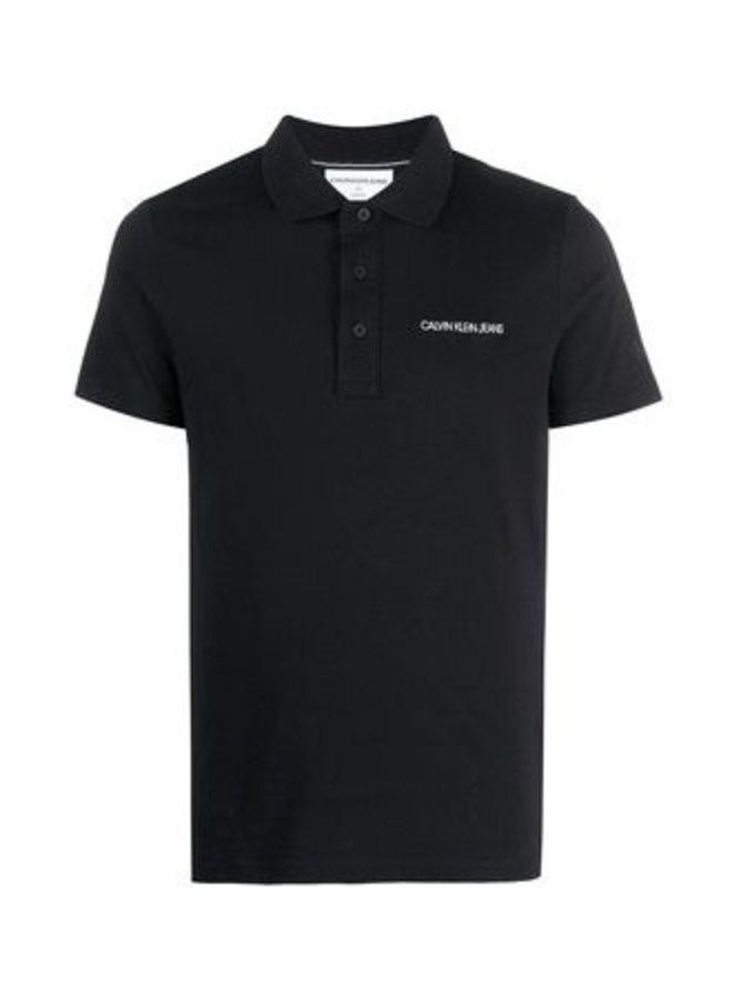 Calvin Klein Embroidered Logo Polo Shirt