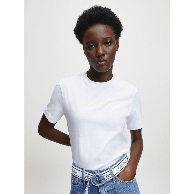 Organic Cotton Logo T-Shirt -White