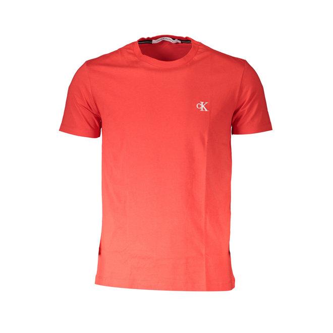 Slim Organic Cotton T-Shirt -High Risk (red)