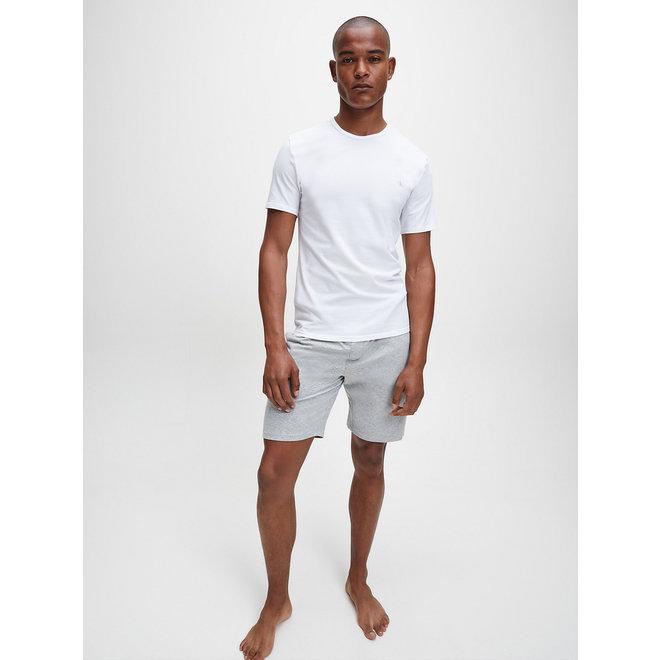 2 Pack White Lounge T-shirts