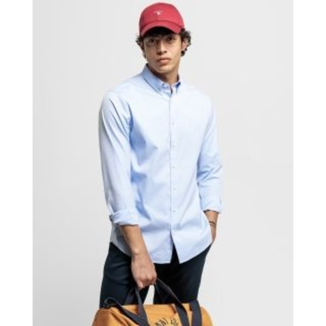 Regular Fit Pinpoint Oxford Shirt