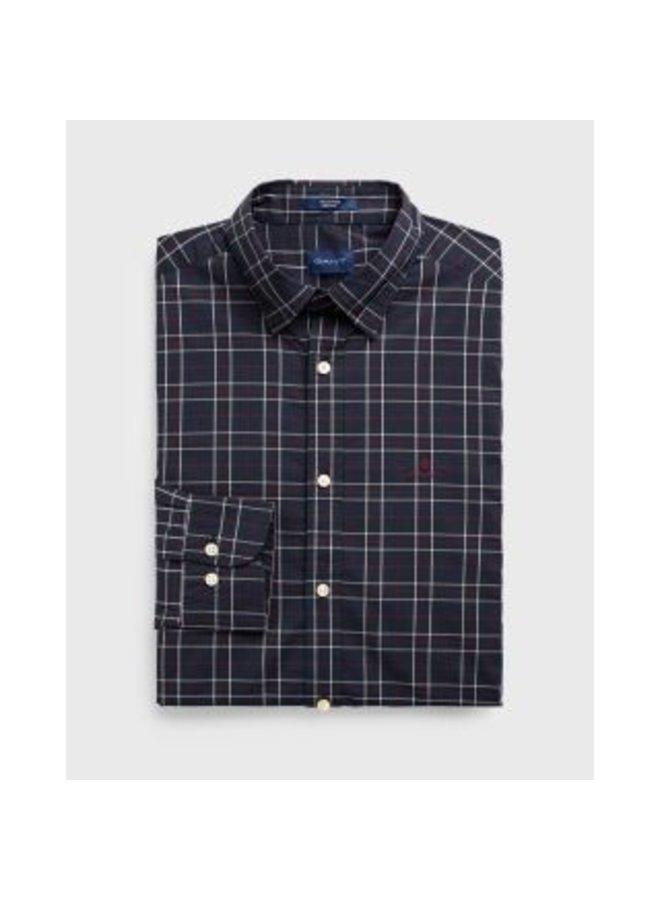 Regular Fit Tech Prep™Tattersall Broadcloth Shirt