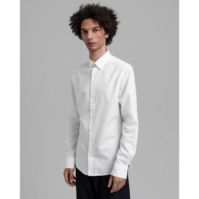 Slim Fit Tech Prep™ Oxford Shirt - White
