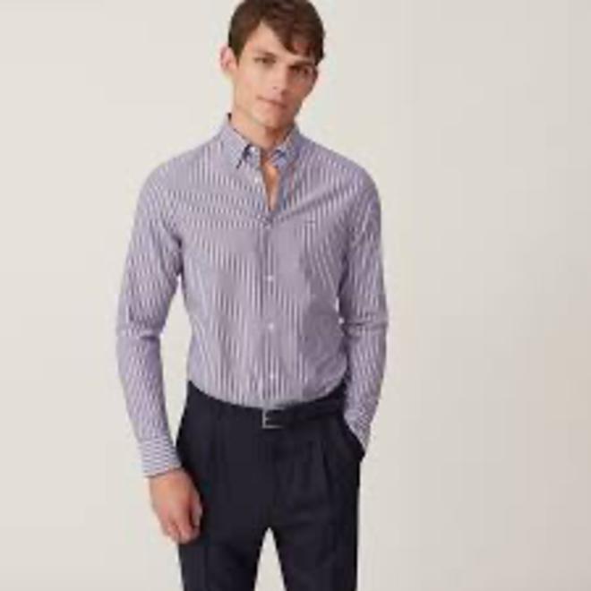 Slim Multistripe Tech Prep™ Oxford shirt